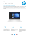 HP Notebook 14s-dq1006ur