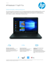 HP Notebook - 17-by0177ur