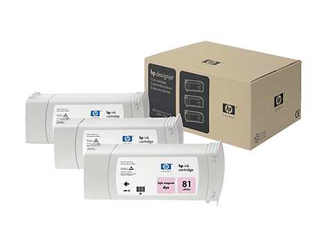 HP 81 Light Magenta 3-pack 680-ml