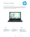 HP Notebook - 15-da0508ur