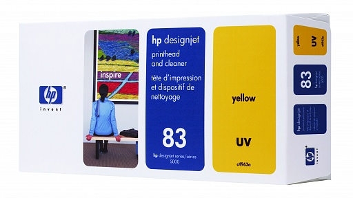 HP 83 Yellow UV Printhead (C4963A)
