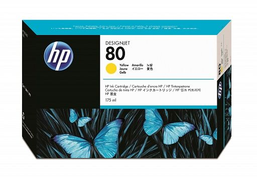 HP 80 Yellow (C4873A)