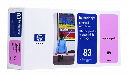 HP 83 Light Magenta UV Printhead (C4965A)