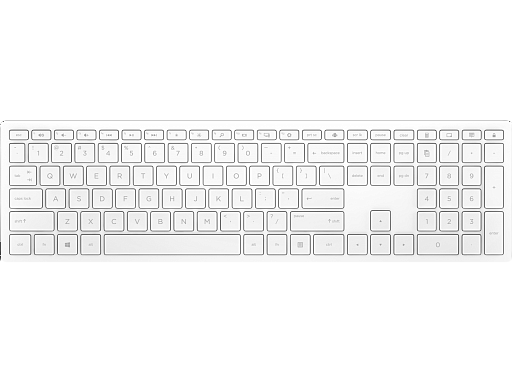 HP Pavilion Wireless Keyboard 600 White