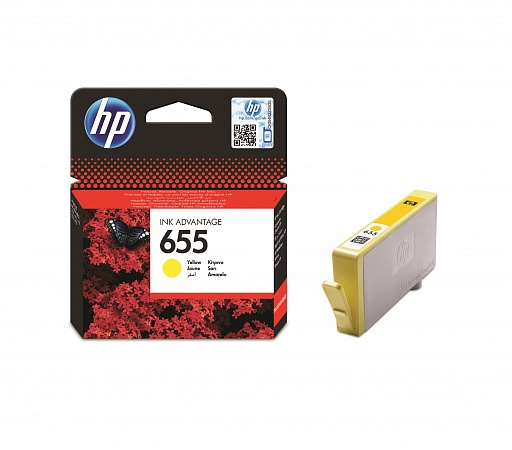 HP 655 Yellow (CZ112AE)