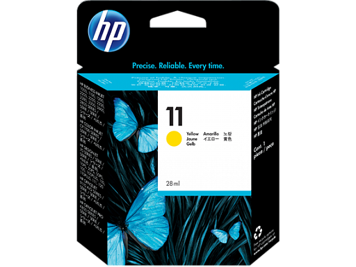 HP 11 yellow (C4838A)