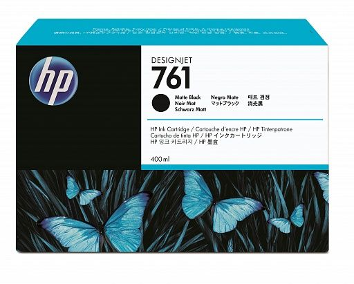HP 761 Matte Black 400 ml (CM991A)