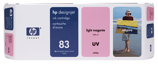 HP 83 Light Magenta UV 680 ml (C4945A)