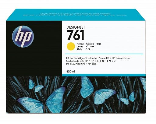HP 761 Yellow 400 ml (CM992A)