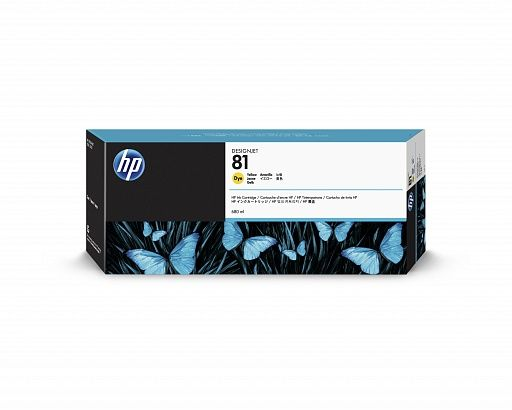 HP 81 Yellow (680ml)
