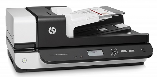 Серия HP Scanjet Enterprise Flow 7500 Flatbed Scanner