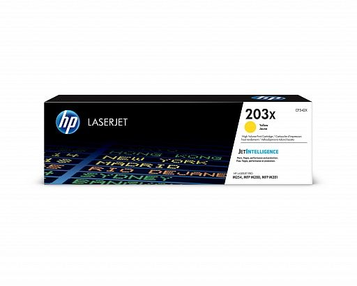 HP 203X yellow (CF542X)