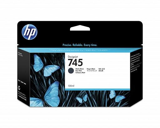 HP 745 Photo Black 130 ml (F9J98A)