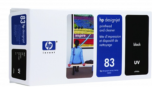 HP 83 Black UV Printhead (C4960A)