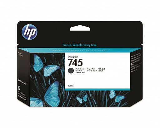 HP 745 Matte Black 130 ml (F9J99A)