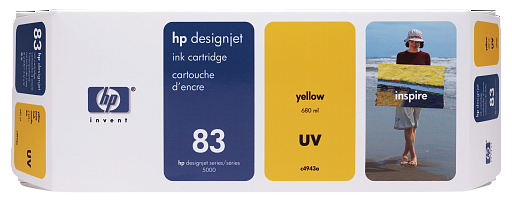 HP 83 Yellow UV 680 ml (C4943A)