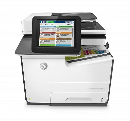 HP PageWide Enterprise 586f