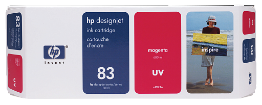 HP 83 Magenta UV 680 ml (C4942A)